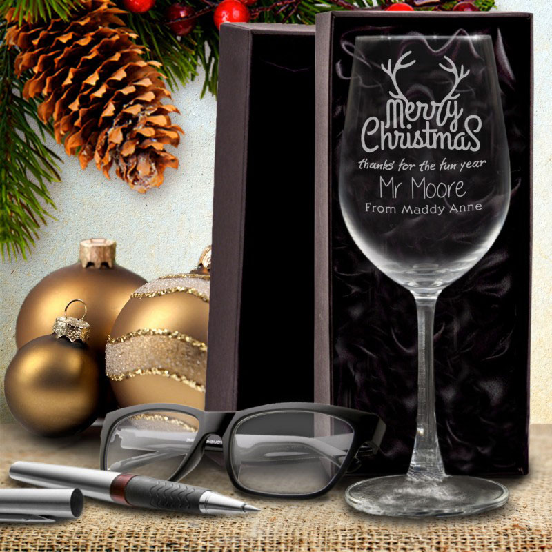 how to give wine glasses as a gift