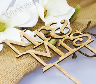 Timber Cake Topper