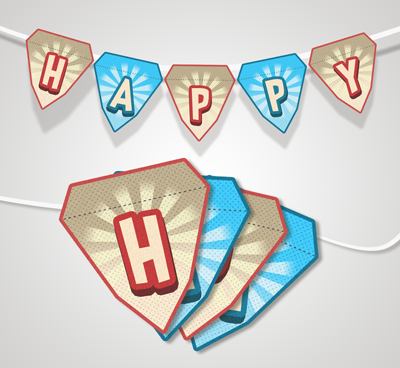 Fathers Day 2018 Bunting