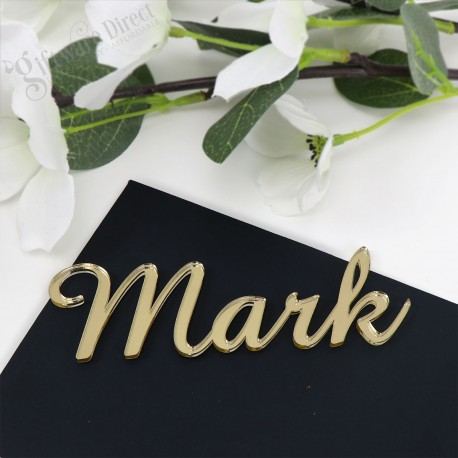 Personalised Wedding Table Name place Cards Favour Tags Guest Names Thank You T2
