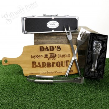 2017 Personalised Deluxe Fathers Day Gift Pack BBQ
