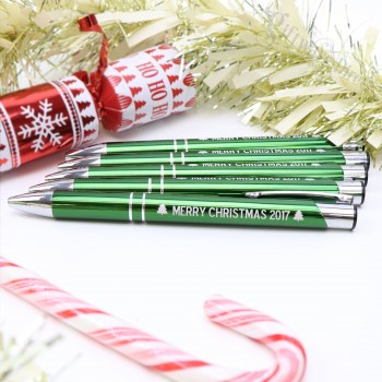 Engraved Metal Pen Fundraising Wholesale Christmas School Stall Business Gift