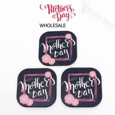 Mothers Day Full Colour Frosted Coaster school stall gift fundraising item
