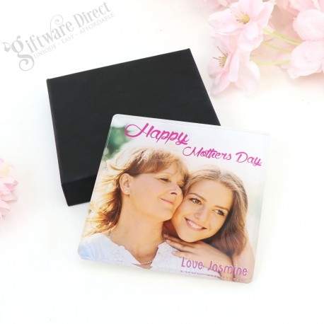 Personalised Acrylic Coaster Mothers Day Gift Printed