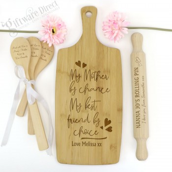 Engraved Kitchen Gift Pack Personalised for Mothers Day