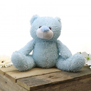 Plush Teddy Bear Blue Page Boy Flower Girl Gift