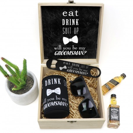 Will You Be My Groomsman Complete Gift Pack