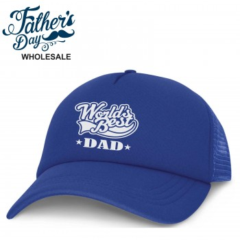 Printed Trucker Cap Fathers Day Wholesale