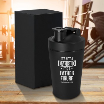 Personalised 500ml Stainless Steel Thermos Flask Fathers Day Gift