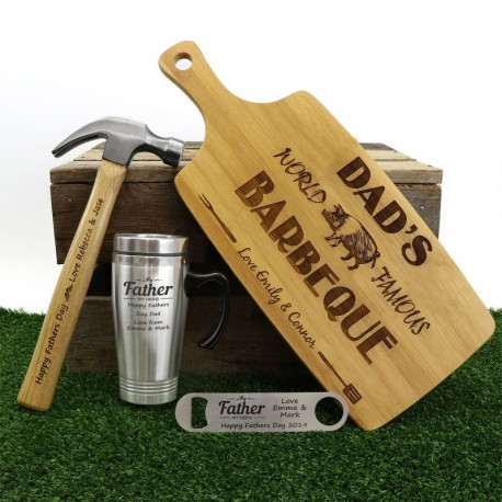 2017 Personalised Beer Lovers Fathers Day Gift Pack