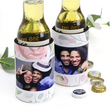 Deluxe Stubby Holder With Base Wedding Favours - Limited Edition Design