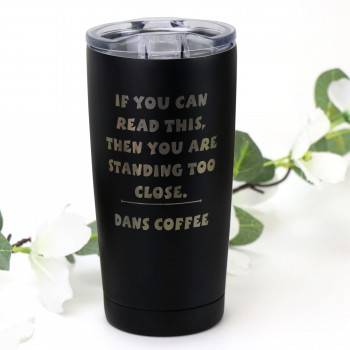Engraved Wolverine Thermal Mug Quarantine Gift