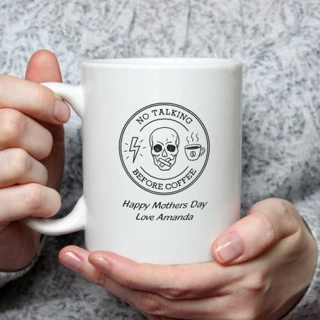 Personalised Ceramic Coffee Mug Mothers Day Gift