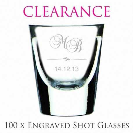 31fea00fa260 Reduced price! clearance engraved wedding shot glasses cheap favours  australia