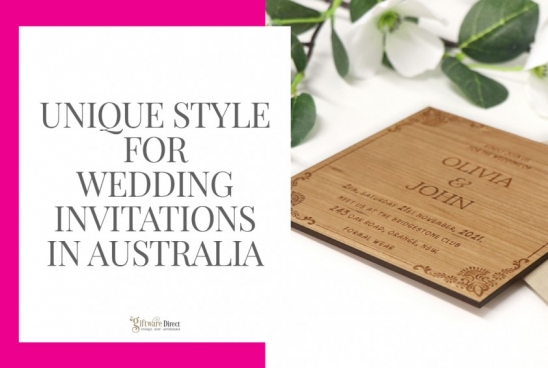 Unique Style for Wedding Invitations in Australia