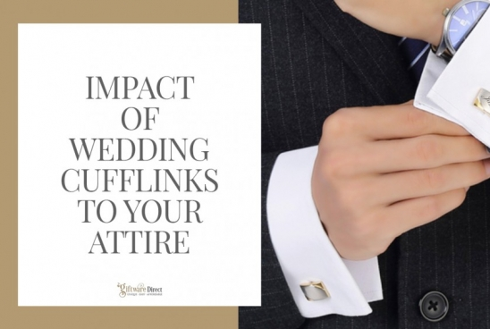 Impact of Wedding Cufflinks to Your Attire