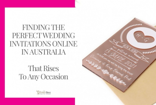 Finding the Perfect Wedding Invitations Online in Australia