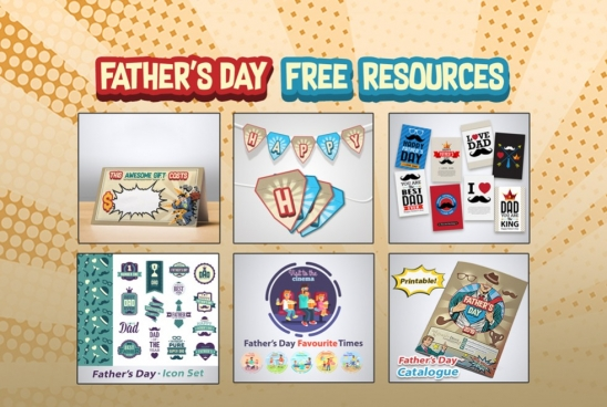 Fathers Day 2019 Free Resources