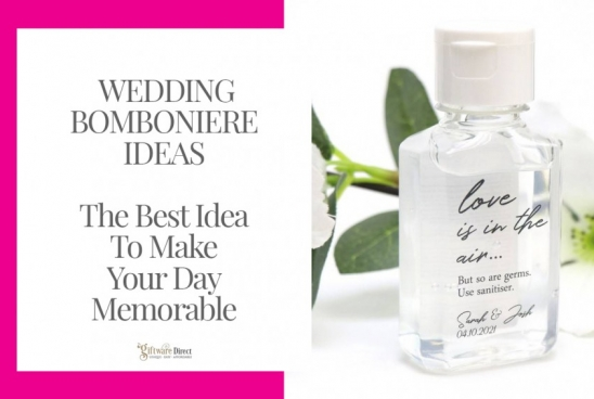 Wedding Bomboniere Ideas - The Best Idea To Make Your Day Memorable
