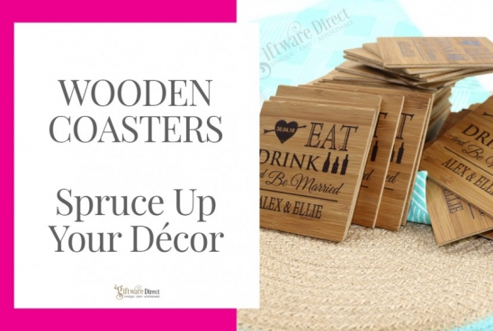 Wooden Coasters - Spruce Up Your Décor