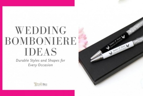 Wedding Bomboniere Ideas - Durable Styles and Shapes for Every Occasion