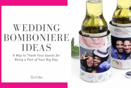 Wedding Bomboniere Ideas - Thank Your Guests for Being a Part of Your Big Day