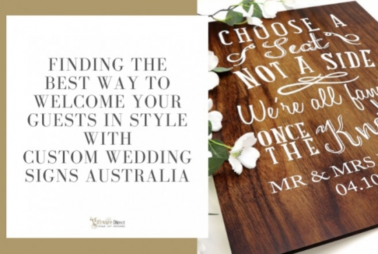 Finding the Best Way to Welcome Guests With Custom Wedding Signs in Australia