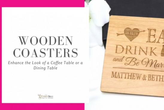 Wooden Coasters - Enhance the Looks of a Coffee Table or a Dining Table