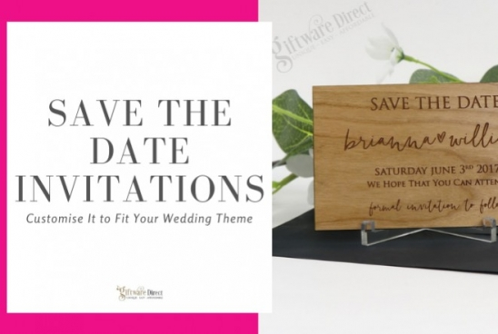 Save The Date Invitations - Customise It to Fit Your Wedding Theme