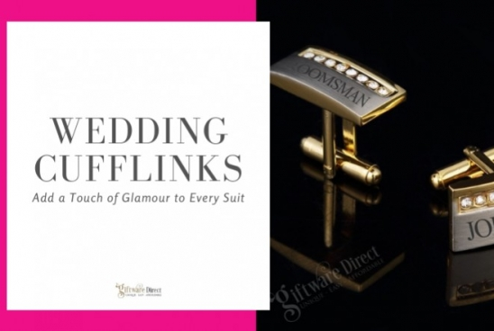 Wedding Cufflinks - Add a Touch of Glamour to Every Suit