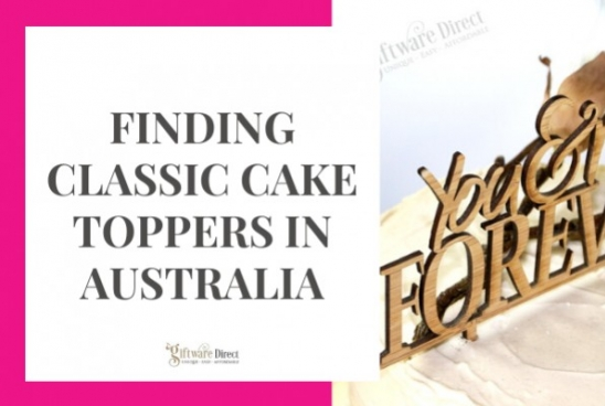 Finding Classic Cake Toppers in Australia