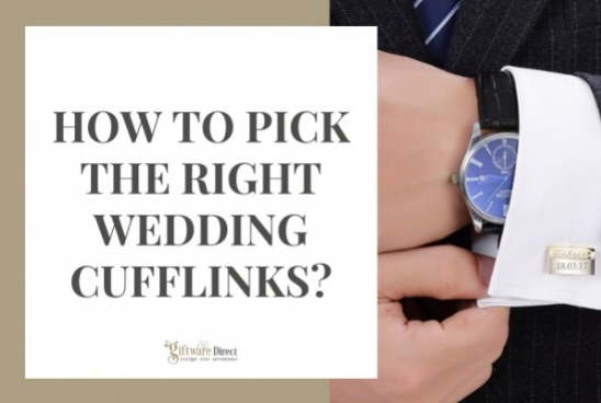 How to Pick the Right Wedding Cufflinks?