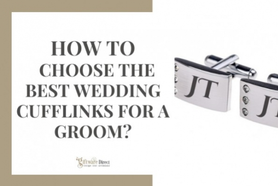How To Choose The Best Wedding Cufflinks For A Groom?