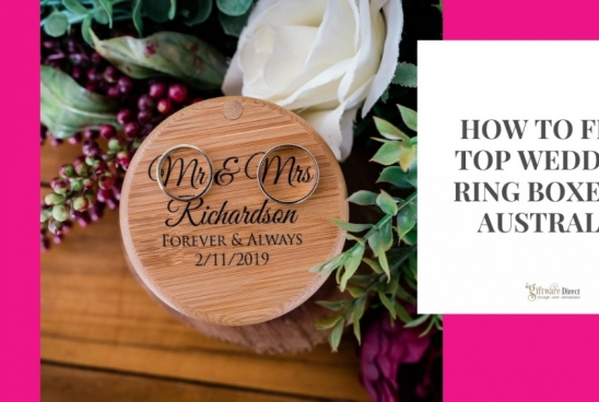 How To Find Top Wedding Ring Boxes In Australia