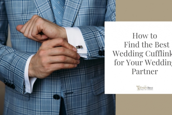 How to Find the Best Wedding Cufflinks for Your Wedding Partner