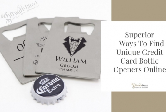 Superior Ways To Find Unique Credit Card Bottle Openers Online