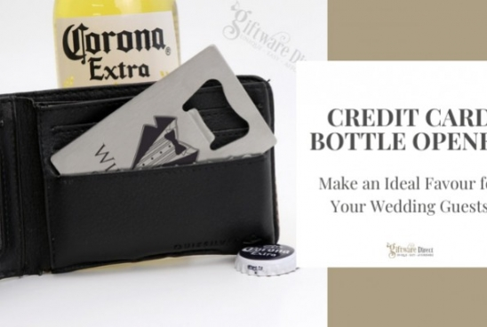Credit Card Bottle Opener - Make an Ideal Favour for Your Wedding Guests