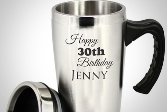 Product Spotlight - Engraved Travel Mugs
