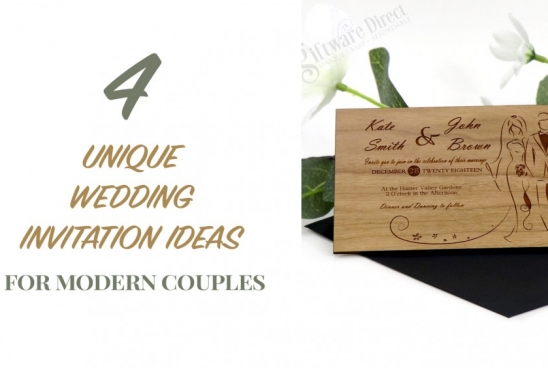 4 Unique Wedding Invitation Ideas for Modern Couples
